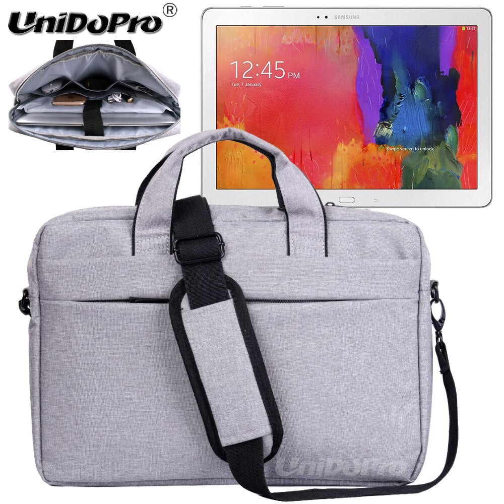 UNIDOPRO Waterproof Messenger Shoulder Bag Case for Samsung ATIV Tab 5, ATIV Tab 7 Tablet PC Sleeve Cover