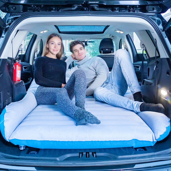 Camping Car Mattress Inflatable Car Mattress Car Bed Trunk Travel Bed For Camping Home Sofa Folding    Auto Interior Accessories