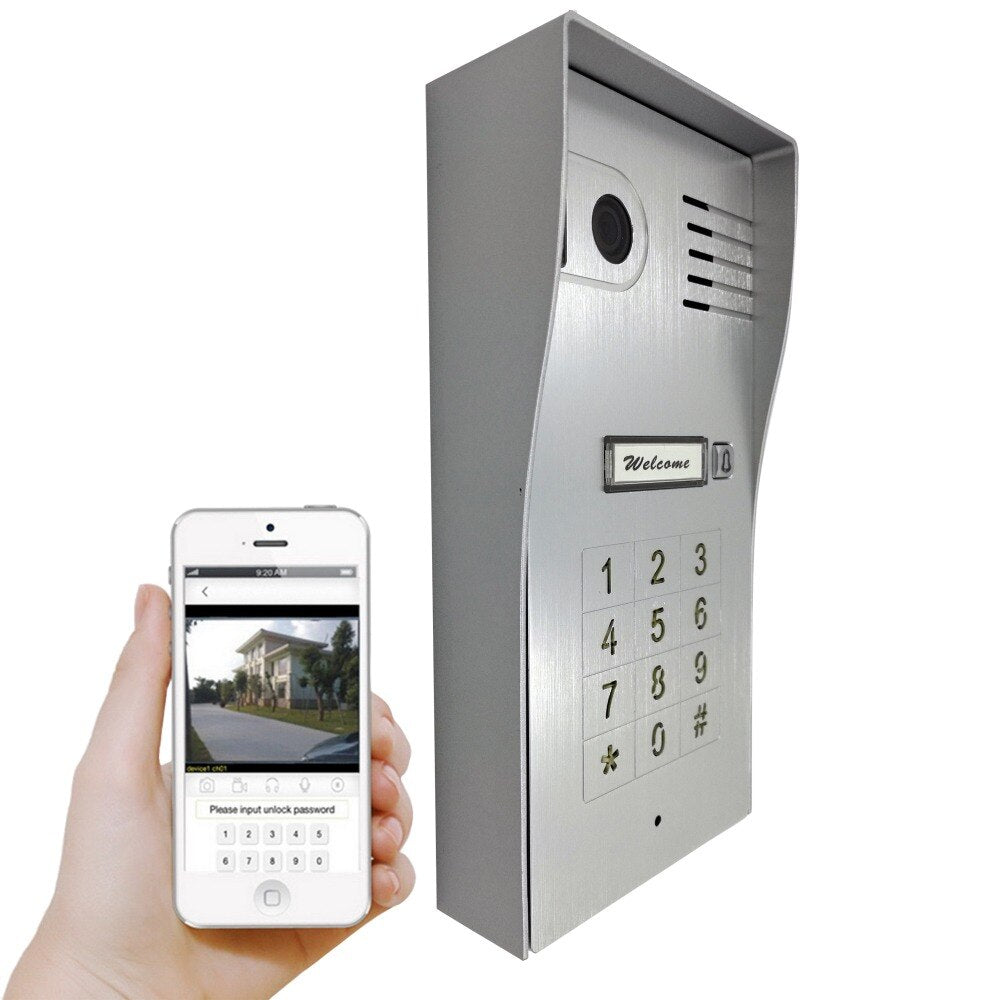 3G/4G Wireless Wifi Smart Doorbell Video Phone Door Visual Ring IP Camera Intercom Support IOS Android for Smart Phone Tablet