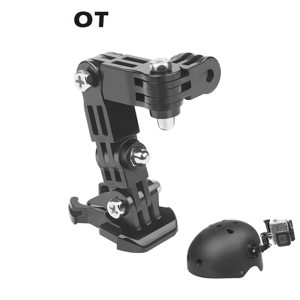 CAOMING Fixed Metal Motorcycle Holder Mount for GoPro HERO8 Black//Max // HERO7 Xiaoyi and Other Action Cameras Durable DJI OSMO Action Color : Gold