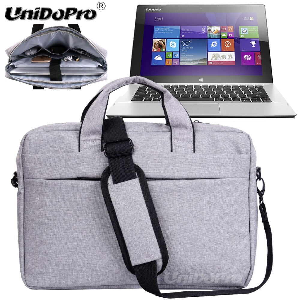 UNIDOPRO Waterproof Messenger Shoulder Bag Case for Lenovo Miix 2 11, IdeaTab Lynx K3011 11.6in Spin 2-in-1 Tablet Sleeve Cover