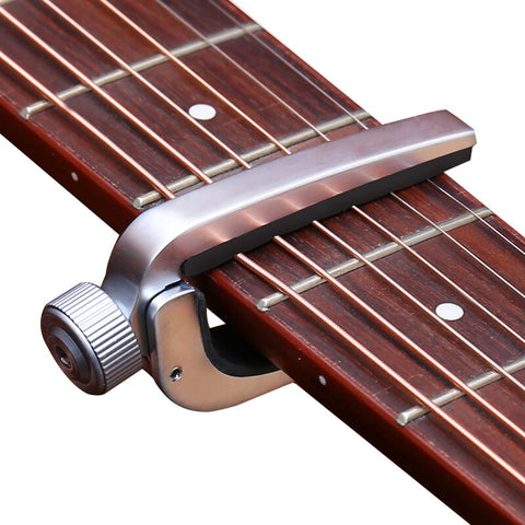 Electric Acoustic Guitar Capo Bass Violin Single-handed Tune Clamp Trigger