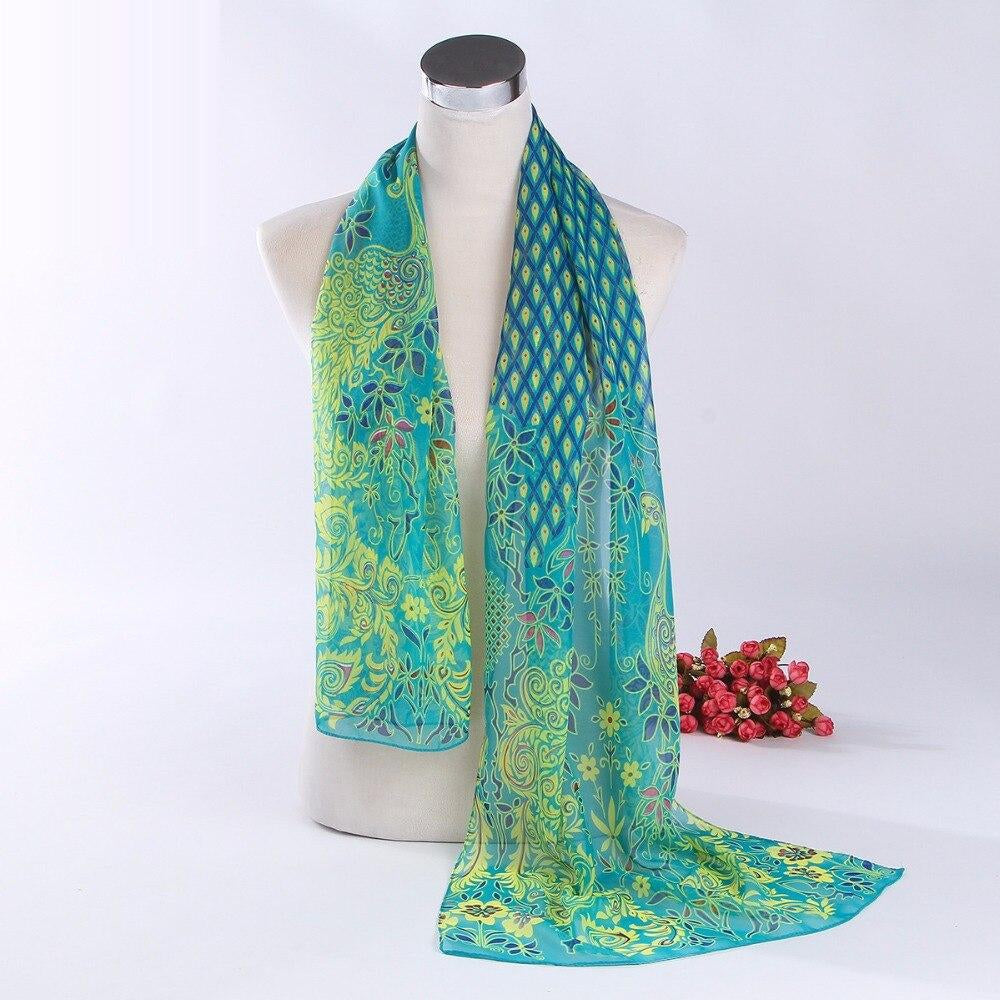 Fashion New Women's 5 Colors Peacock pattern anti Sai beach towel 150*50cm high quality scares