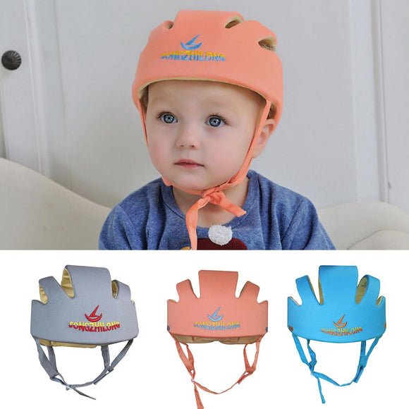 New Adjustable Infant Protective Hat Baby Safety Helmet Toddler Anti-collision Cap