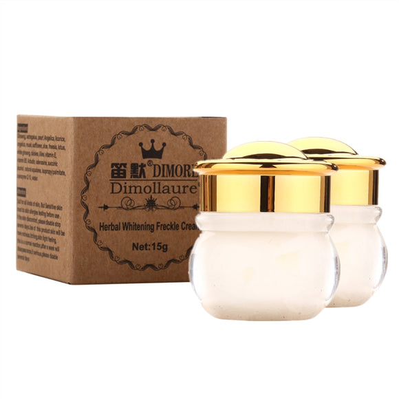 2pcs Dimollaure whitening Freckle cream Remove melasma Acne Spots Butterfly rash face care scar removal cream Dimore cosmetics