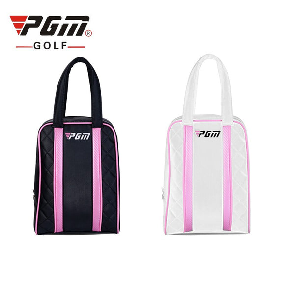 Pgm Golf Shoes Bag Men And Women Golf Travel Bag Rain Cover For Shoes Golf Ball Outdoor Sports Mini Bags Handsbags D0051