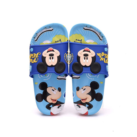 Spring Flower Graphic Slippers for Boy Girl Indoor Outdoor Casual Sandals Shoes