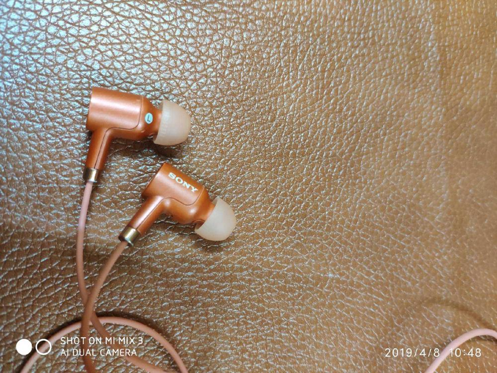 Used original  NW500N earphone for A45 A55 MP3 player  3.5mm  Wired  In-Ear