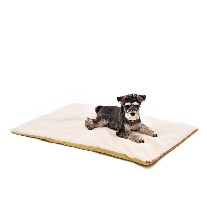 Free Shipping Fever Dog Cat Cushion Beige Leisure Style Pet Mat Warm In Winter Pet Product Wholesale Animal Mat High Quality