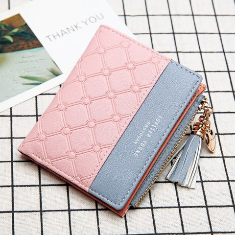 Compact Women sequence Coin Purse wallet bag small  Pouch Clutch Christmas