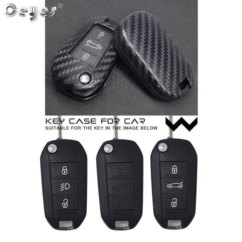 Silicone Car Key Cover For Peugeot 3008 208 308 508 408 2008 307 4008
