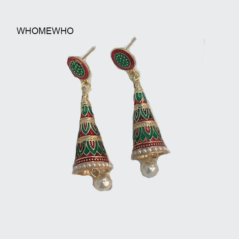 Bohème Rétro Indian Bollywood Drop Earring Gypsy vintage ethnique Fashion Jewelry