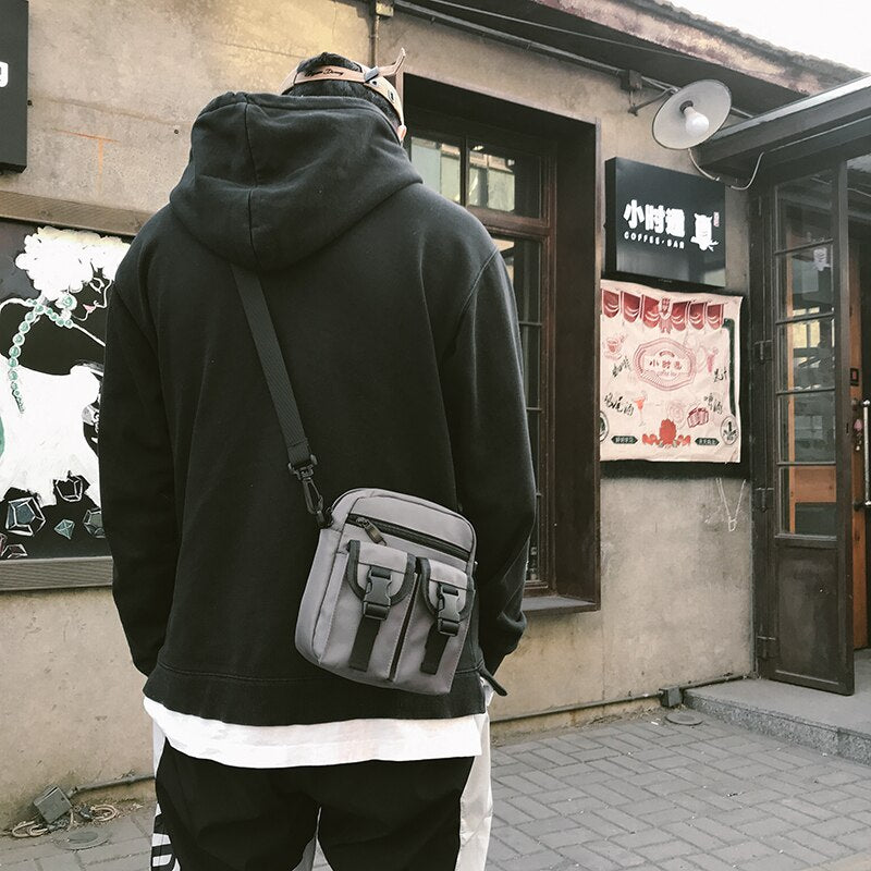 Fashion Chest Bag 2020 Chest Bag small square bag ins super fire men and women diagonal simple tide package