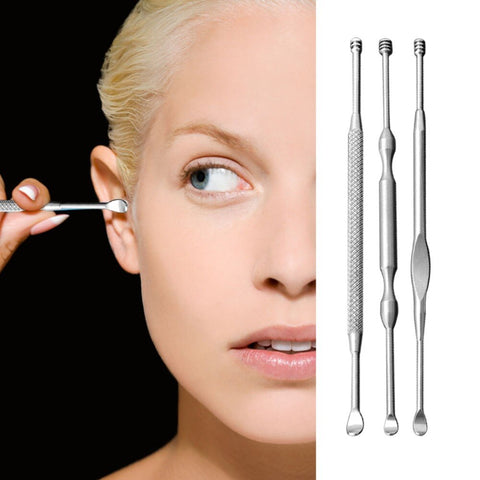 Portable Stainless Steel Ear Pick Cleaning Tools Ear Care Safety Dog Ear Cleaning Device Ears Spoon Lightweight Durable