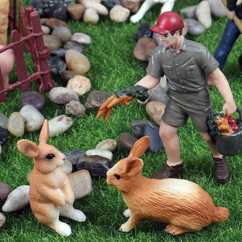 Figurine Animals Model Action Figures for Kids Collection Toys Lawn Ornament