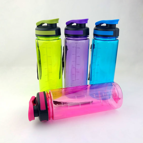 700ml Shaker Bottle Water Bottle With Tea Infuser Portable Plastic Hiking Bike Bicycle Cycling Camping Water Bottles Hot Sale