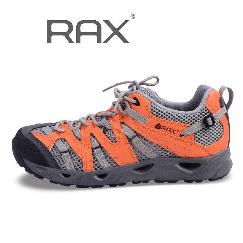 Rax Outdoor Breathable Aqua Shoes For Men Women Mesh Anti-Skid Trekking Shoes Male Summer Camping Water Fish Sneakers #B1601