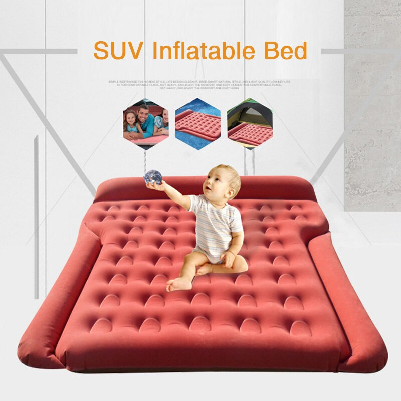 180*145CM Car Bed Camping Car Mattress Travel Bed Inflatable Air Mattress Car Air Mattress Cover      Colchon Inflable Para Auto