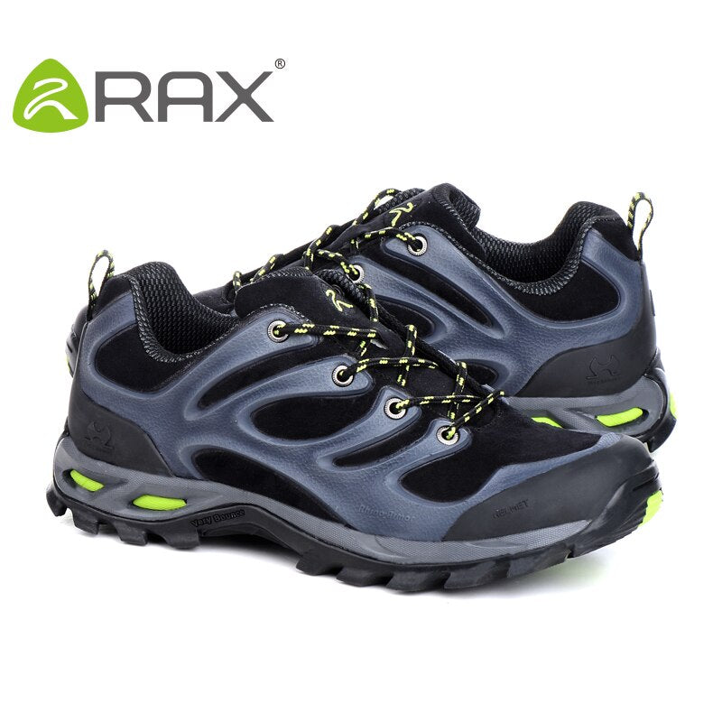 Rax Outdoors Men Hiking Shoes Suede Camping Tactical Sneakers Man Sport Climbing Mountain Trekking Sneakers D0623