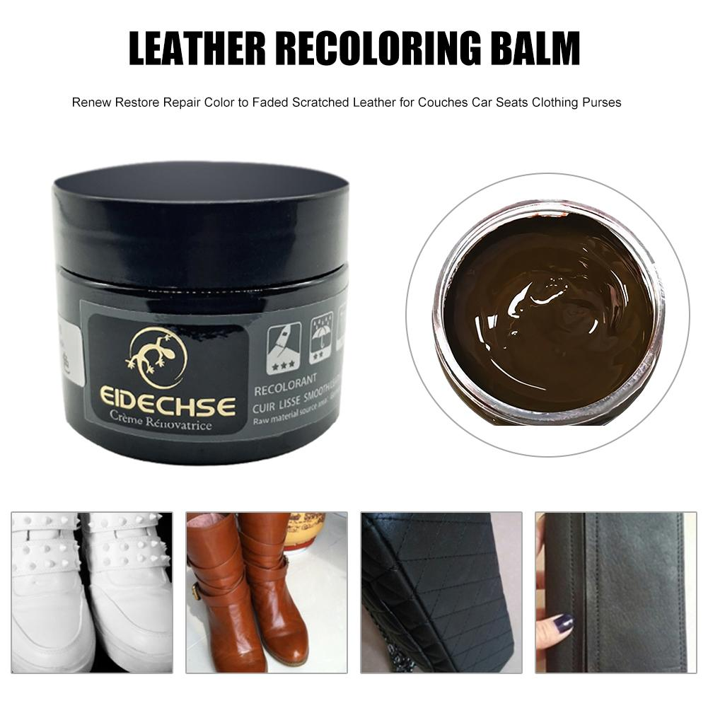 New 2019 Liquid Skin Leather Recoloring Balm Repair Kit No Heat Repair Tool Auto Interior Seat Sofa Coats Holes Scratch Cracks