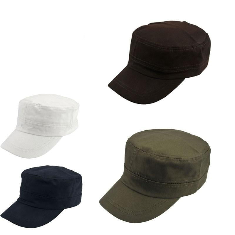 Men/'s Camouflage Baseball Cap Flat Trucker Military Army Tactical Camo Sun Hat