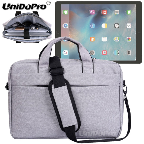 UNIDOPRO Waterproof Messenger Shoulder Bag Case for iPad Pro 12.9-inch A1584 A1670 A1671 A1821 2017 Tablet Sleeve Cover