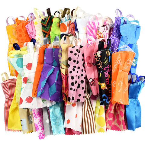 32 Item//Set Doll Accessories Dress Clothes For Barbie Doll