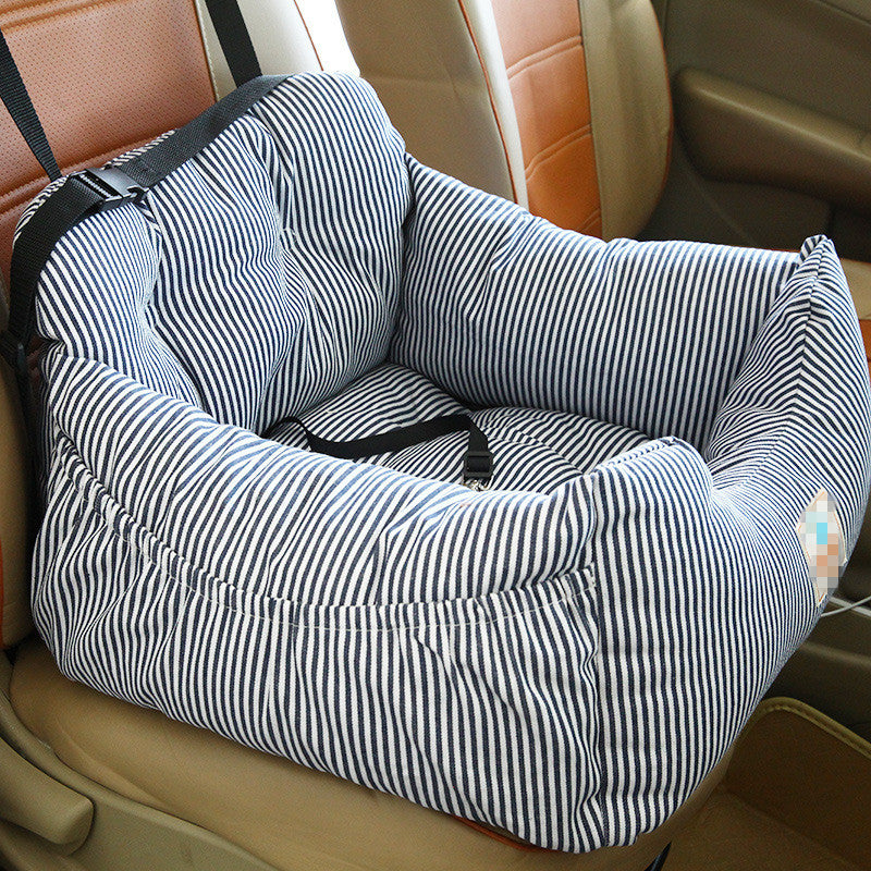 Pet Dog Carrier Car Seat Pad With Safety Belt Cat Puppy Bag Safe Carry House Dog Seat Bag Basket Pet Car Travel Product