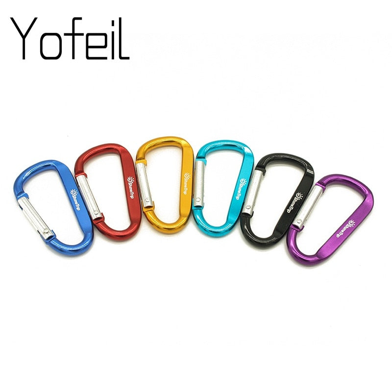 Butterfly Shaped Key Clip Double Sided Carabiner for Keys /& More