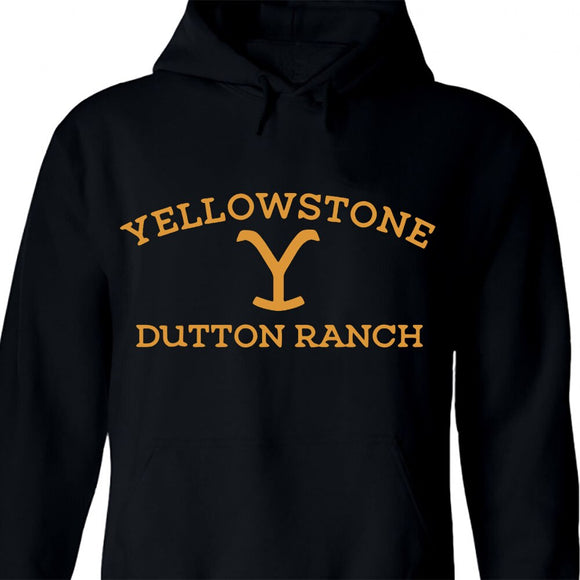 YELLOWSTONE DUTTON RANCH Hoodie Wyoming Montana kevin costner Tv Series Hoodie Sweatershir