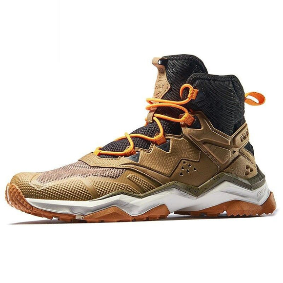 Men Hiking Shoes High-Top Waterproof Outdoor Sneaker Men Mountain Breathable Trekking Shoes Trail Climbing Sneakers AA52335