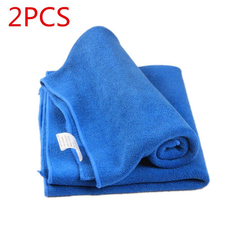 Microfiber Towel Car Wash DryingTowel Thick Double Sided Velvent Hemming