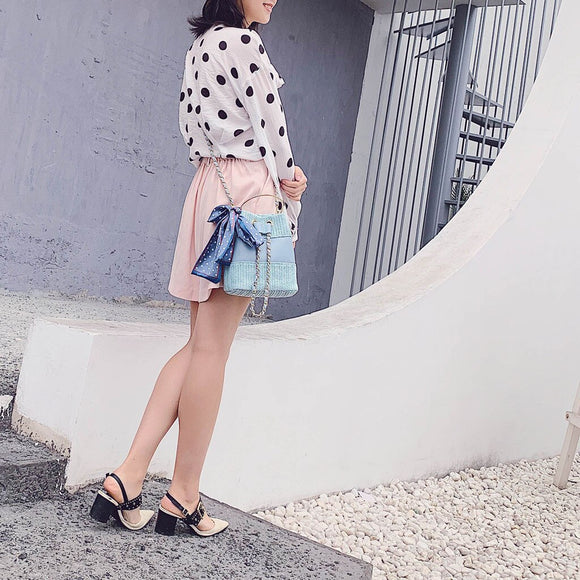 Brand Designer Women Evening Bag Shoulder Bags Straw Luxury Female Handbags Casual Clutch Messenger Bag Totes for Lady 2019 May