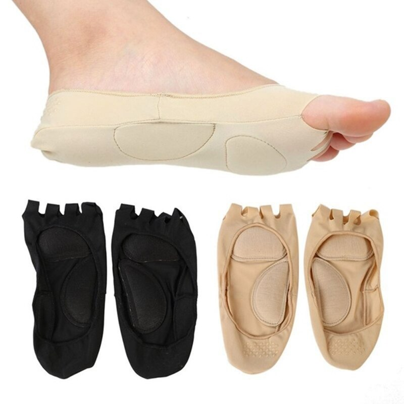 Women Yoga Dance Sport Massage Toe Socks Five Fingers Toes Compression Socks Arch Support Foot Pain Sock For Health Foot Care