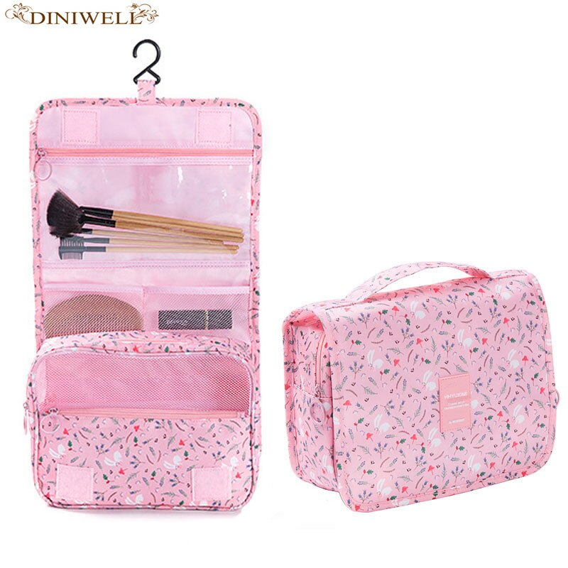 DINIWELL Brand  Women waterproof hanging cosmetic bag men's travel portable cosmetic bag organizer cosmetic bag bathroom bag