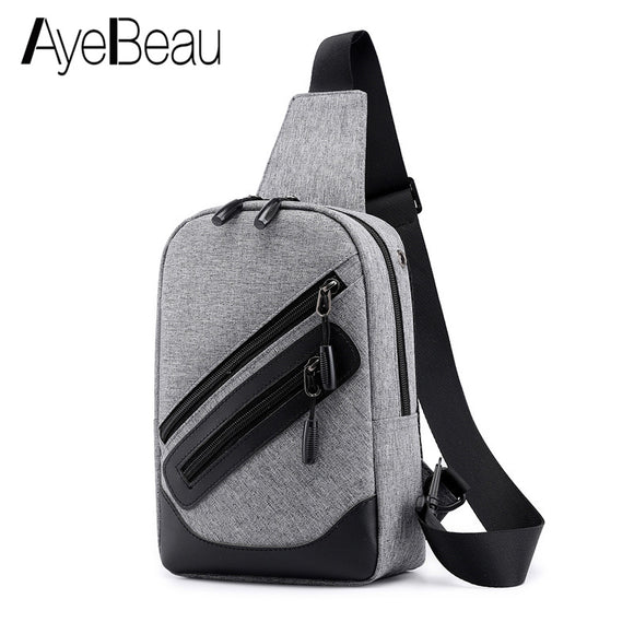 Fashion Women Men Shoulder Chest Sling Bag Male Female Messenger For Cross Body Crossbody Handbag Waist Phone Sac A Main Bolsas