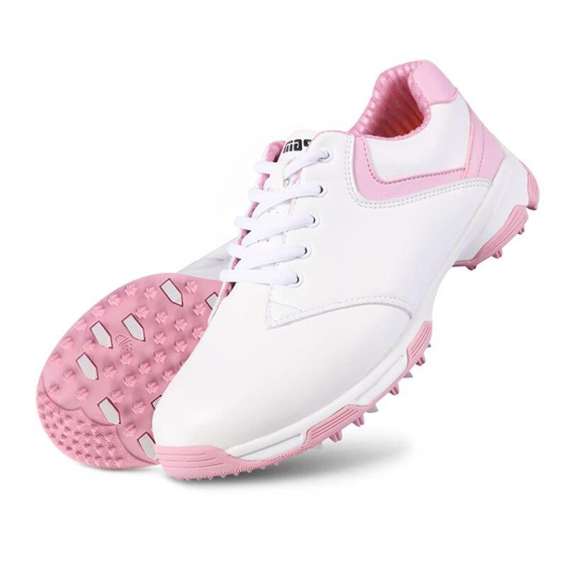 Women Golf Shoes Soft Waterproof Classic Sport Sneakers Outdoor Breathable Trainers Size Athletic Shoes AA10093