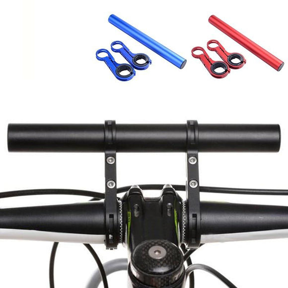 Bicycle Extension Frame Gear Handlebars Accessories Bike Headlight Phone Holder