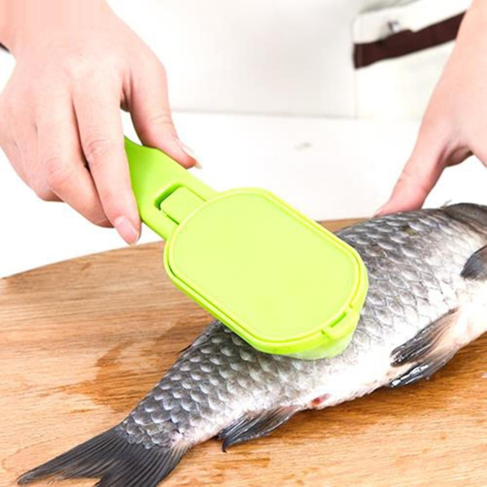 1PCS Kitchen Tool Practical Fast Cleaning Fish Skin Scales Peeler Shaver Fish-scale Plane Fish Scales Flake Drop Shipping