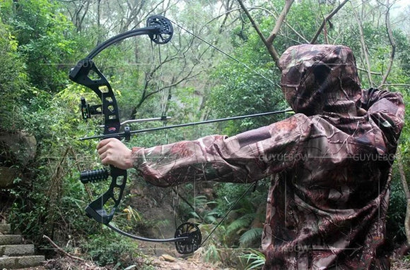 35lbs-70lbs Archery Compound Bow with Complete Accessories Powerful Compound Bow for Shooting Hunting Fishing