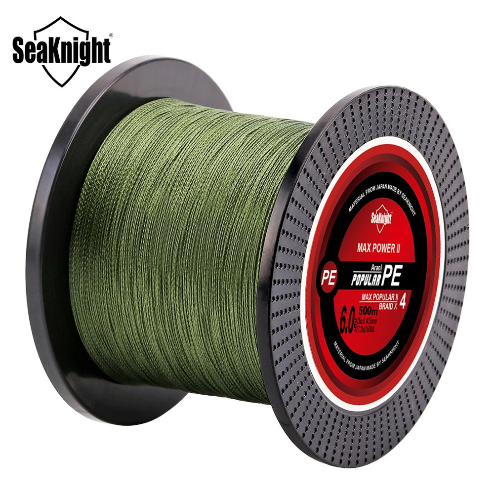 Pro Braided PE Fishing Line Braided 500M Higher Abrasion Resistance 50LBs--2PCS