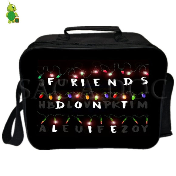 Stranger Things Eleven Lunch Bag Fresh Keeping Ice bag Thermal Insulation Bag Women Men Picnic Camping Shoulder Bag