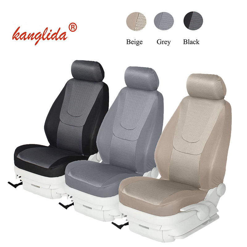 Pair Car Seat Cover Universal Magnetic Massage Car Seat Protector Back Support Cushion