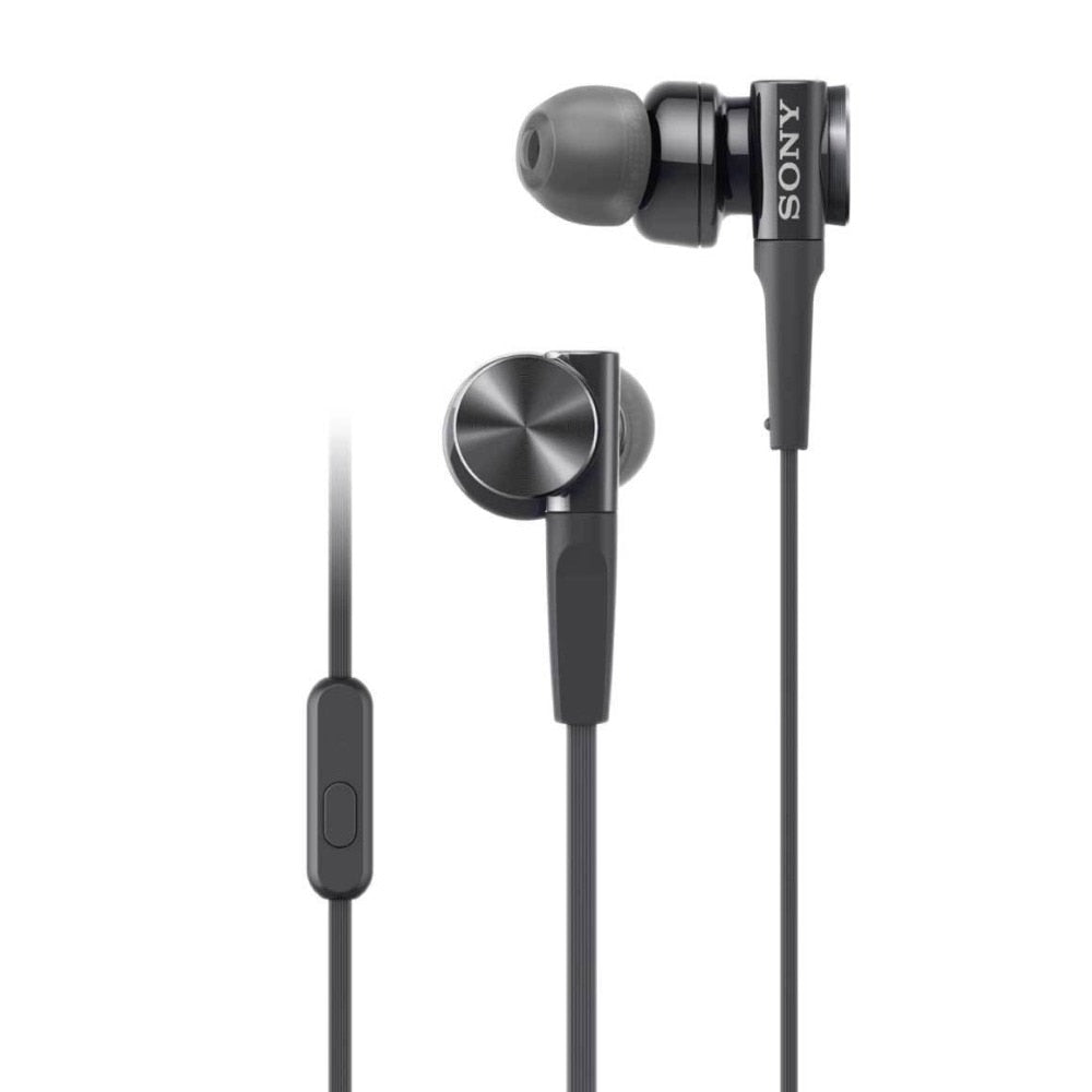 SONY Sealed Type In-Ear earphone MDR-XB75AP with mic  free shipping
