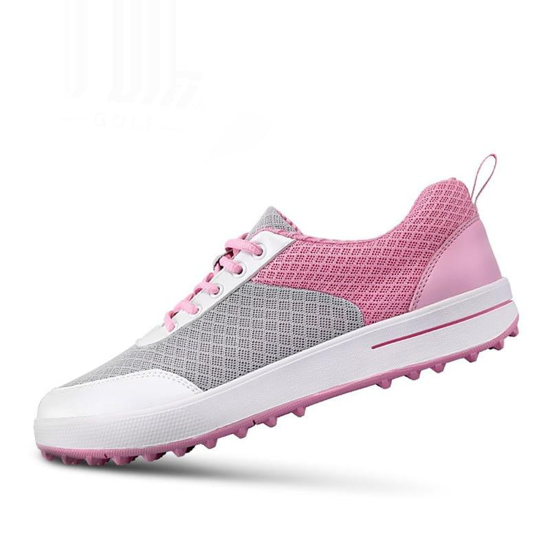 Professional Golf Shoes Women Breathable Mesh Outdoor Athletic Shoes Non-Slip Comfortable Trainers New Arrival B2855