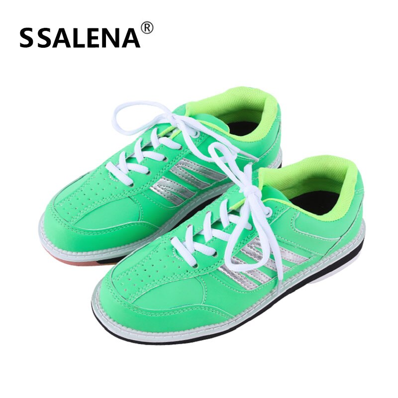 Men Women Skidproof Sole Professional Bowling Shoes Breathable Mesh Outdoor Sport Sneakers Anti Slip Training Shoes AA11039