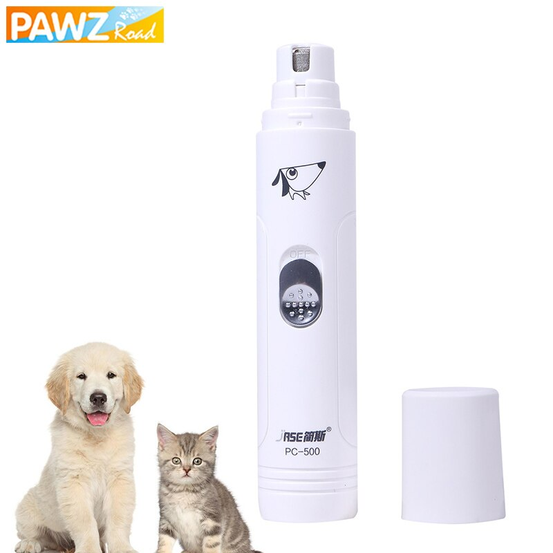 PAWZRoad Pet Grooming Tool Electronic Safety Low-noise Effective Easy To Use Rechargeable Nail Grinder For Dog Cat Nail Clipper