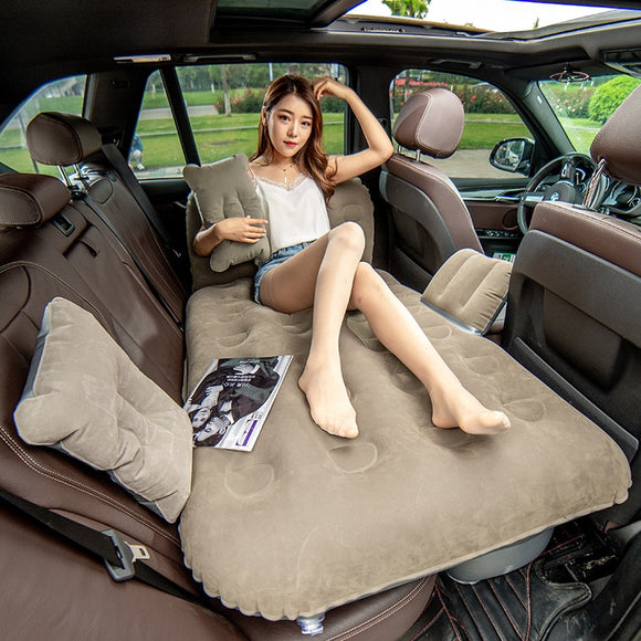 2019 Car Bed Car Mattress Travel Bed Inflatable Mattress Air Bed Camping Inflatable Car Mattress Colchon Inflable Para Auto