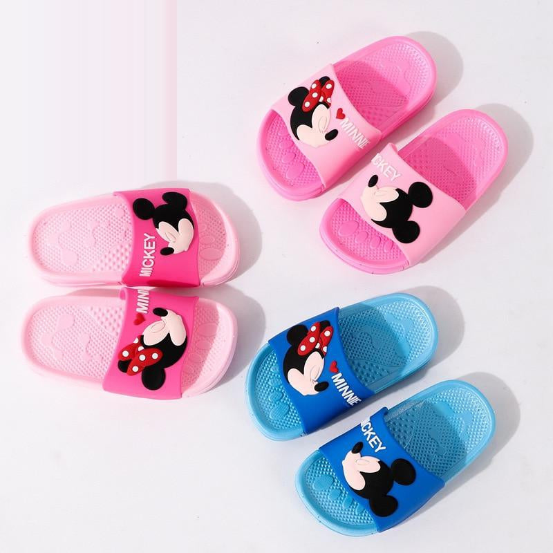 Ron Kite Boys Girls Anti-Slip Bath Slippers Bathroom Slippers Shower Shoes Gym Slippers Little Kid//Big Kid