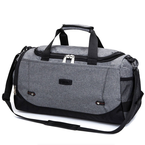 2019 fitness motion Bag Men weekend Woman  nylon bag  Durable Multifunction Handbag Outdoor Sporting  travel Baggage organizer